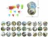 Йо-йо эл., Динозавр, 6,2 см, свет, эл.пит.вх.в комплект, блистер, в ассортименте